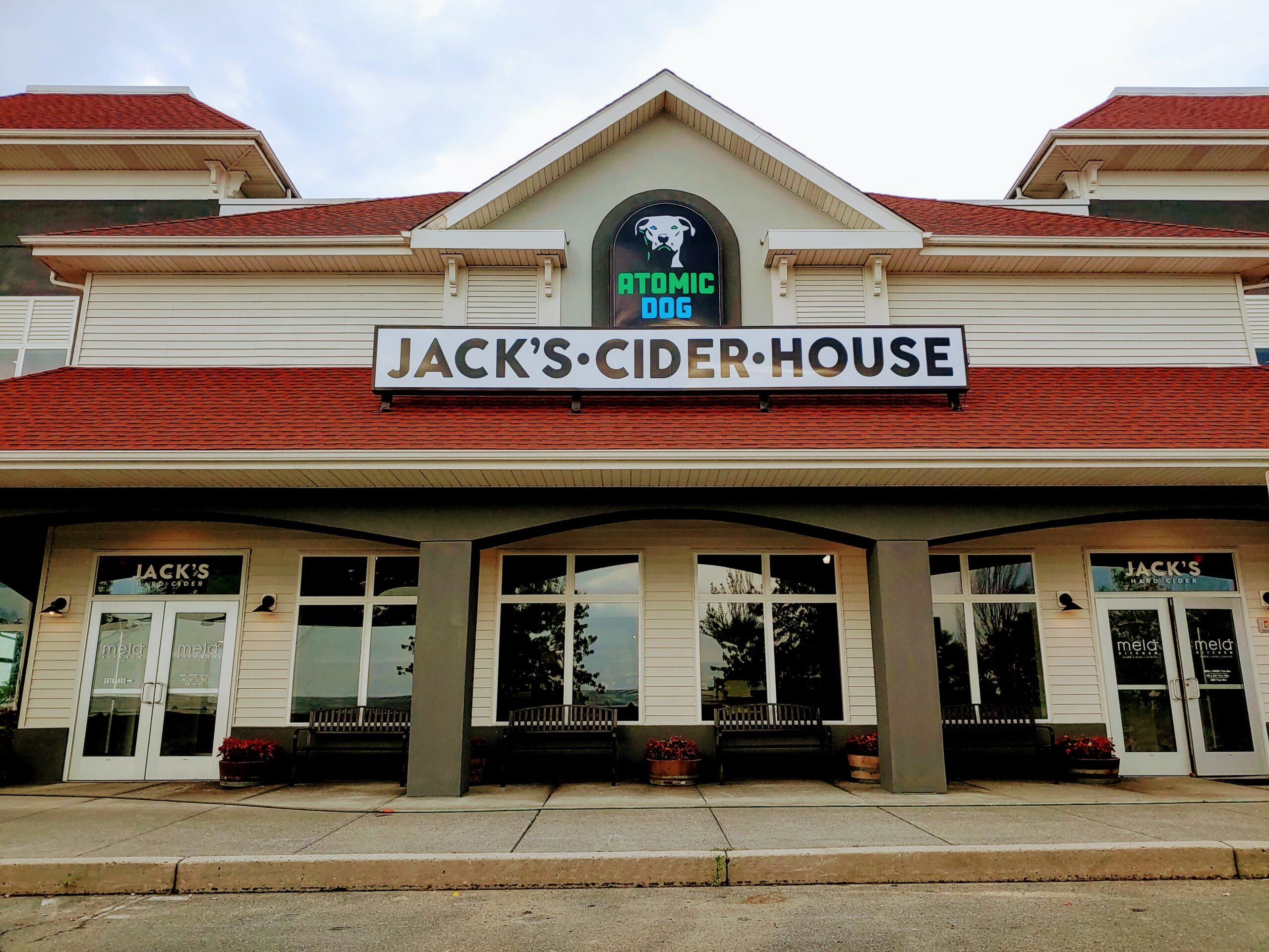 Jack's Cider House front